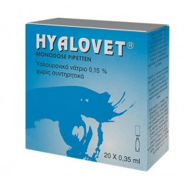 ZWITTER HYALOVET EYE DROPS 20 x 0.35ml