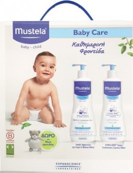MUSTELA BABYCARE PACK GENTLE CLEANSING G …