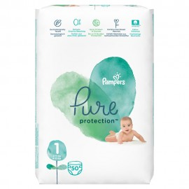 PAMPERS PURE No1 (2-5kg) 50τμχ