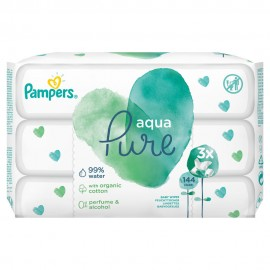 PAMPERS ΜΩΡΟΜΑΝΤΗΛΑ PURE 3x48τμχ