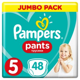PAMPERS PANTS No5 (12-17kg) 48τμχ