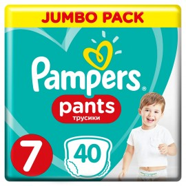 PAMPERS PANTS No7 (17+kg) 40τμχ