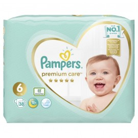 PAMPERS PREMIUM CARE No6 (13+kg) 38τμχ