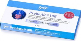 SMILE PROBIOTIC 10 BILLION 10caps