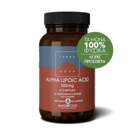 TERRANOVA ALPHA LIPOIC ACID 300mg 50caps