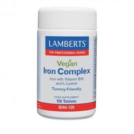 LAMBERTS VEGAN IRON COMPLEX 120tabs