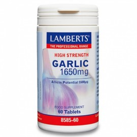 LAMBERTS GARLIC 1650mg 60tabs