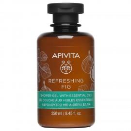 APIVITA REFRESHING FIG SHOWER GEL 250 ml