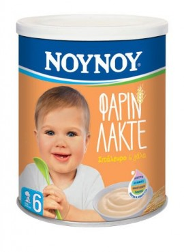 NOYNOY ΦΑΡΙΝ ΛΑΚΤΕ 300gr