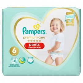 PAMPERS PREMIUM PANTS JUMBO No6 (15+kg) …