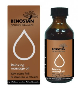 BENOSTAN RELAXING MASSAGE OIL 100ml