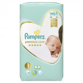 PAMPERS PREMIUM CARE NEWBORN No1 (2-5kg) …