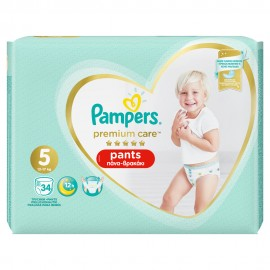 PAMPERS PREMIUM CARE PANTS JUMBO No5 (12 …