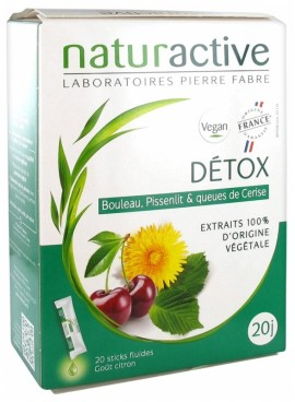 PIERRE FABRE NATURACTIVE DETOX 20sticks