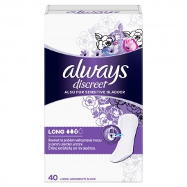 ALWAYS DISCREET LONG No3 40liners