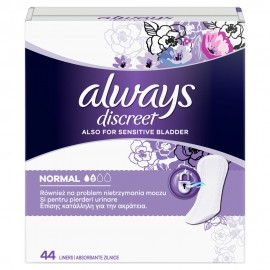 ALWAYS DISCREET NORMAL No2 44liners
