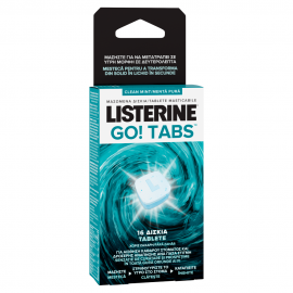LISTERINE GO TABS 16tabs