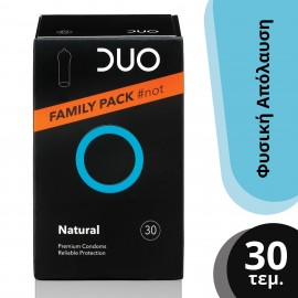 DUO NATURAL FAMILY PACK 30τμχ