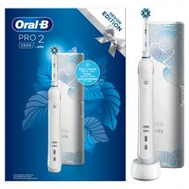 ORAL B PRO2 2500 WHITE EDITION DESIGN
