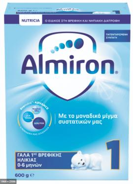 NUTRICIA ALMIRON 1 600gr