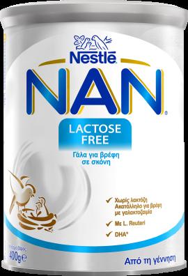 NESTLE NAN LACTOSE FREE 400gr