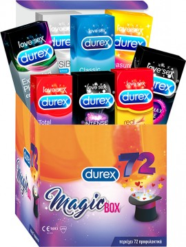 DUREX MAGIC BOX 72τμχ