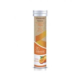 Genecom Terra Vitamin C + Zinc Με Γεύση …