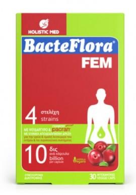 HOLISTIC MED BACTEFLORA FEM 30caps