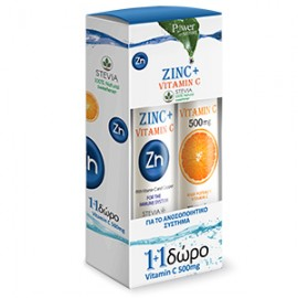 POWER HEALTH ZINC+C500MG & VITC 500MG
